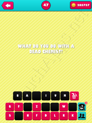What the Riddle Level 47 Answer