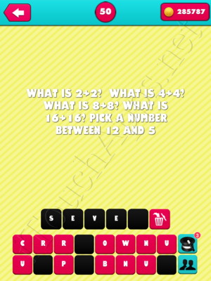 What the Riddle Level 50 Answer