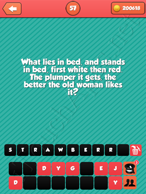 Riddle Me That Level 57 Answer
