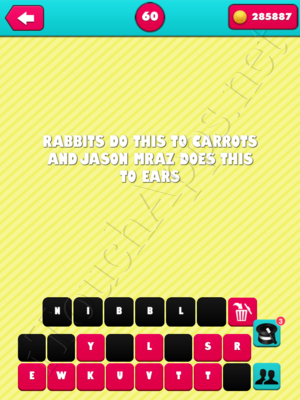What the Riddle Level 60 Answer