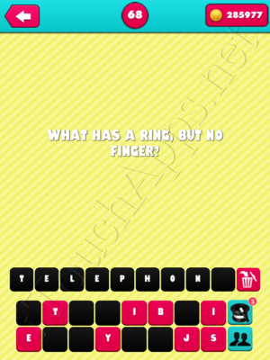 What the Riddle Level 68 Answer