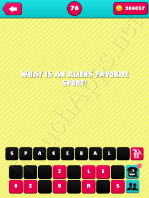 What the Riddle Level 76 Answer