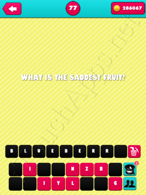What The Riddle Level 77 Answer