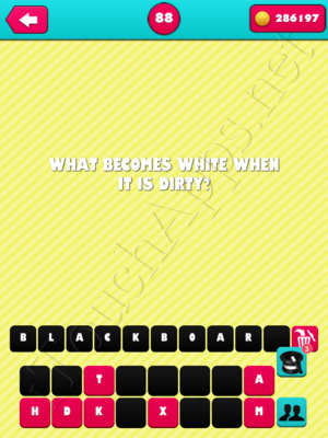 What the Riddle Level 88 Answer