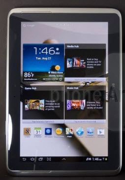 2012 Galaxy Note 10.1. Photo from phonearena.com