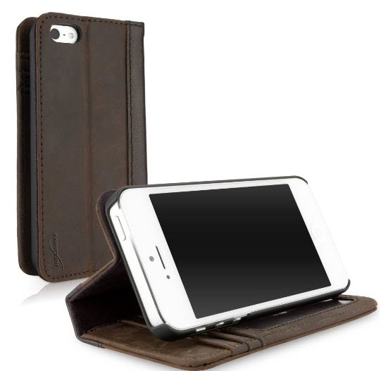 BoxWave Classic Book iPhone 5S Case