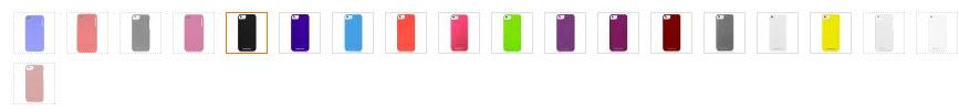 CaseCrown Lux Glider Case colors