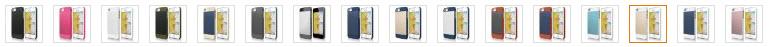 elago S5 Outfit Aluminum and Polycarbonate Dual Case colors