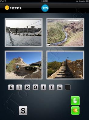 1 Mot 4 Images Level 129 Solution