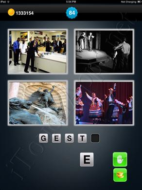 1 Mot 4 Images Level 84 Solution