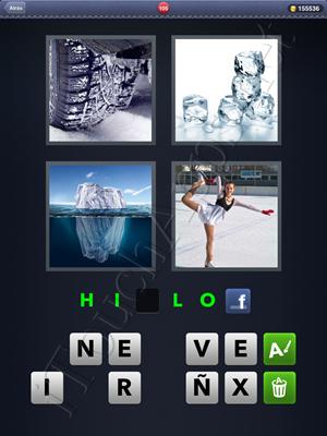 4 Fotos 1 Palabra Level 105 Respuesta