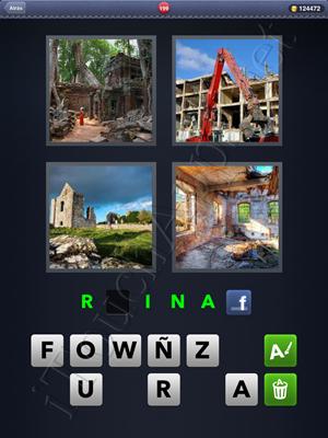 4 Fotos 1 Palabra Level 199 Respuesta