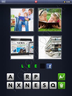 4 Fotos 1 Palabra Level 84 Respuesta