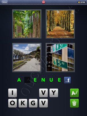 4 Images 1 Mot Level 938 Reponse