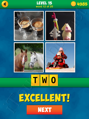 4 Pics 1 Word Puzzle - More Words - Level 15 Word 12 Solution
