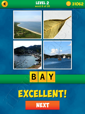4 Pics 1 Word Puzzle - More Words - Level 2 Word 8 Solution