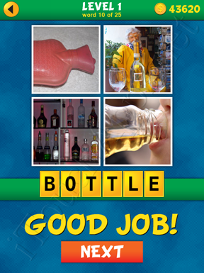 4 Pics 1 Word Puzzle - What's That Word Level 1 Word 10 Solution