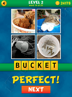 4 Pics 1 Word Puzzle - What's That Word Level 2 Word 14 Solution