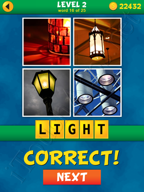 4 Pics 1 Word Puzzle - What's That Word Level 2 Word 16 Solution