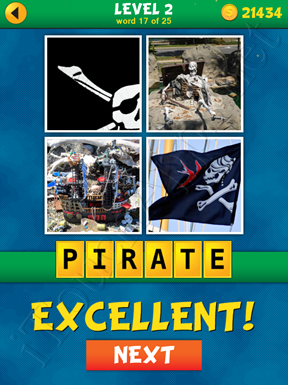 4 Pics 1 Word Puzzle - What's That Word Level 2 Word 17 Solution