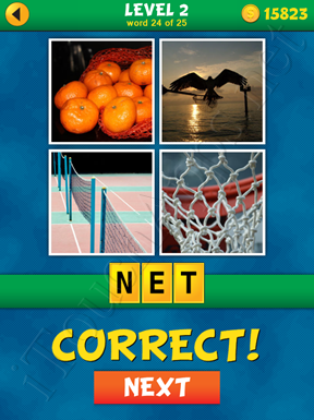 4 Pics 1 Word Puzzle - What's That Word Level 2 Word 24 Solution