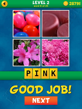 4 Pics 1 Word Puzzle - What's That Word Level 2 Word 8 Solution