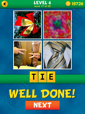 4 Pics 1 Word Puzzle - What's That Word Level 4 Word 17 Solution