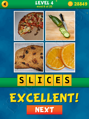 4 Pics 1 Word Puzzle - What's That Word Level 4 Word 8 Solution