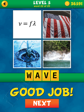 4 Pics 1 Word Puzzle - What's That Word Level 5 Word 22 Solution