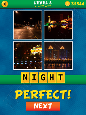 4 Pics 1 Word Puzzle - What's That Word Level 5 Word 23 Solution