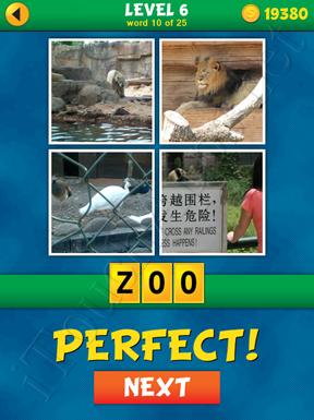 4 Pics 1 Word Puzzle - What's That Word Level 6 Word 10 Solution