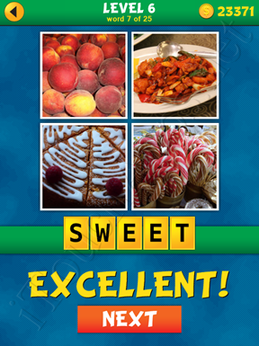 4 Pics 1 Word Puzzle - What's That Word Level 6 Word 7 Solution