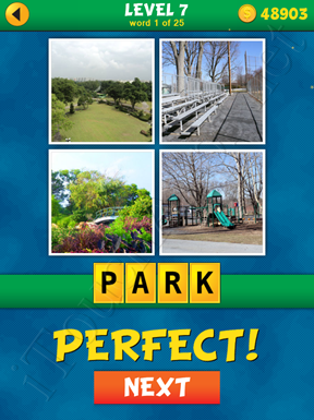4 Pics 1 Word Puzzle - What's That Word Level 7 Word 1 Solution