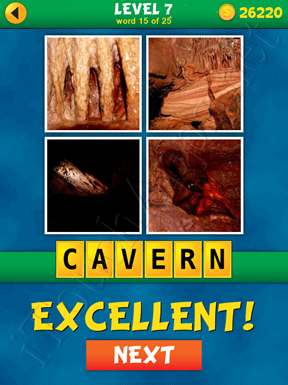 4 Pics 1 Word Puzzle - What's That Word Level 7 Word 15 Solution