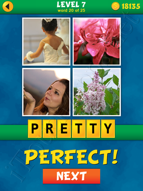 4 Pics 1 Word Puzzle - What's That Word Level 7 Word 20 Solution