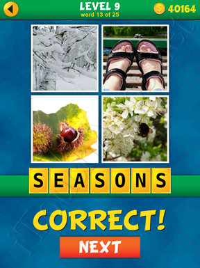 4 Pics 1 Word Puzzle - What's That Word Level 9 Word 13 Solution
