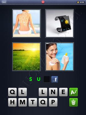 4 Pics 1 Word Level 1052 Solution