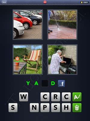 4 Pics 1 Word Level 1054 Solution