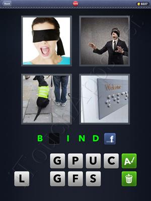 4 Pics 1 Word Level 1078 Solution
