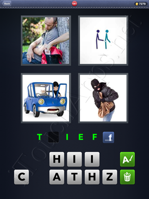 4 Pics 1 Word Level 1081 Solution