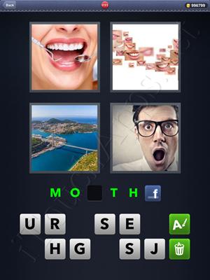 4 Pics 1 Word Level 1111 Solution