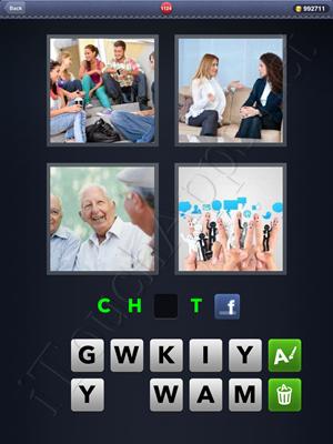 4 Pics 1 Word Level 1124 Solution