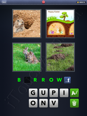 4 Pics 1 Word Level 1135 Solution