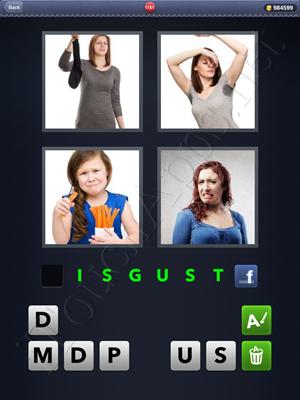 4 Pics 1 Word Level 1151 Solution