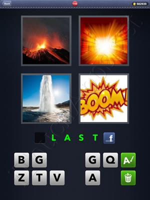 4 Pics 1 Word Level 1156 Solution