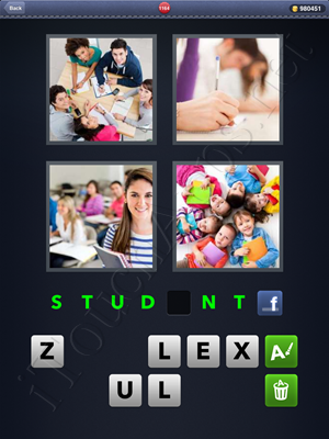4 Pics 1 Word Level 1164 Solution