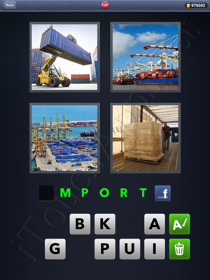 4 Pics 1 Word Level 1167 Solution