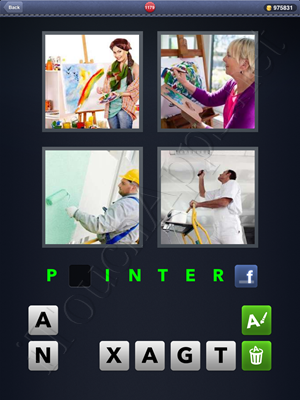 4 Pics 1 Word Level 1179 Solution