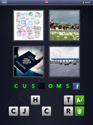 4 Pics 1 Word Level 1198 Solution