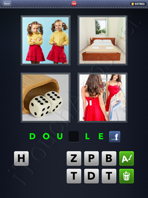 4 Pics 1 Word Level 1282 Solution